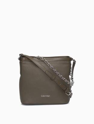 Calvin Klein Pebble Chainlink Small Crossbody Bag