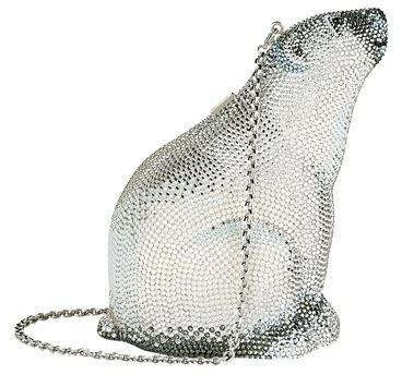 Judith Leiber Polar Bear Clutch