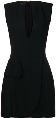 FEDERICA TOSI deep V-neck dress