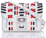 Proenza Schouler Hava Shoulder Bag with Lacing in White