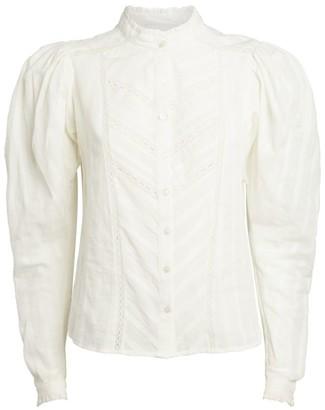 Etoile Isabel Marant Embroidered Reafi Shirt