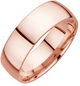 18ct Rose Gold Extra Heavy Court 8mm Ring