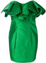 ATTICO The bustier structure mini dress