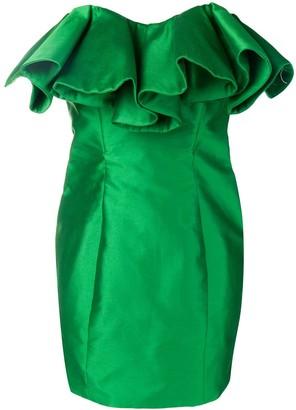 ATTICO Bustier Structure Mini Dress