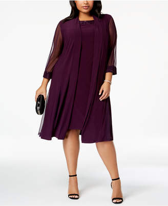 Plum Plus Size Dress - ShopStyle