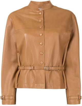 Hermes Long Sleeve Coat Jacket