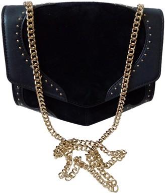 Sandro Fall Winter 2019 Navy Leather Handbags