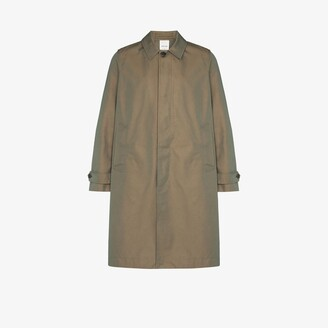 Wood Wood Green Thomas 3L Mac Coat