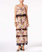 NY Collection Popover Maxi Dress