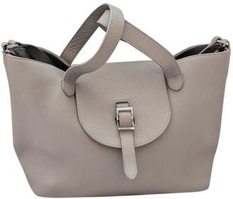Meli-Melo Grey Leather Handbags