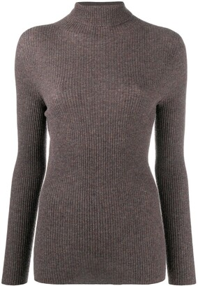 Fabiana Filippi Knitted Long-Sleeve Top