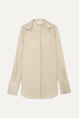 BEIGE Peter Do - Convertible Tencel-blend Shirt