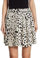 Marc Jacobs Spotted Silk Skirt