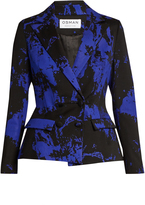 Osman Mona double-breasted wool-blend jacket