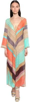 Missoni Knit Lame Midi Dress
