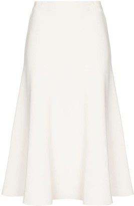 Valentino A-line midi skirt