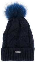Norton Co. chunky knit pom pom hat
