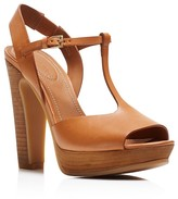 See by Chloe Bell T Strap Platform Sandals
