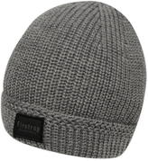Firetrap Blackseal Ribbed Hat