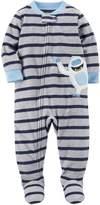 Carter's Baby Boys' One Piece Yeti Fleece Pajamas