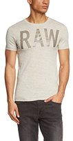 G Star Men's Lamrik Shortsleeve Crew Neck Tee Shirt