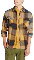 Brixton Men's Bowery Long Sleeve Flannel Shirt