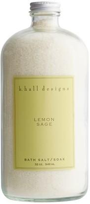 Pottery Barn K. Hall Lemon Sage Bath Salt
