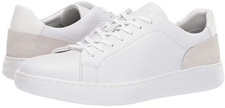 Calvin Klein Fuego (White Soft Tumbled/Nappa Calf/Calf Suede) Men's Lace up casual Shoes