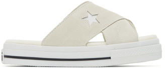 Converse Off-White One Star Criss Cross Sandals