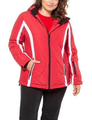 Ulla Popken Women's Skijacke Stretcheinsatz Jacket