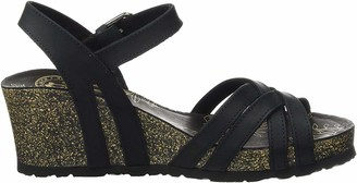 Panama Jack Vera Basics Womens Wedge Heels Sandals