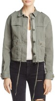 Velvet by Graham & Spencer Mara Crop Army Jacket