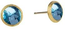 Marco Bicego Jaipur Blue Topaz Stud Earrings