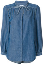 Closed classic denim shirt - women - Cotton/Linen/Flax/Lyocell - XS