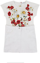 Dolce & Gabbana TWO-PIECE-LOOK DRESS-WHITE SIZE 4