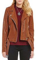 Sugar Lips Sugarlips Faux-Leather Moto Jacket
