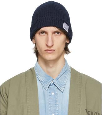 Visvim Navy Knit Beanie