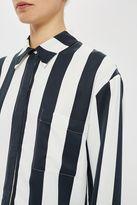 Topshop **Hyde Stripe Shirt by Unique