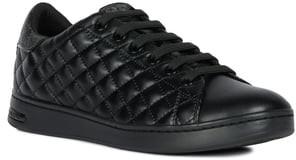 timeless design 8eb5a 7331e Geox Black Women's Sneakers - ShopStyle