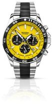 Sekonda Yellow Dial Chronograph Watch