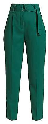 Akris Punto Women's Fred Wool Tie-Waist Pants