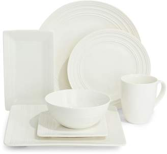 Distinctly Home Aspen 42-Piece Porcelain Dinnerware Set