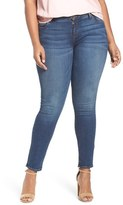 KUT from the Kloth Mia Toothpick Stretch Skinny Jeans (Repose) (Plus Size)