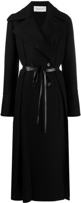 Valentino Wraparound Belted Coat