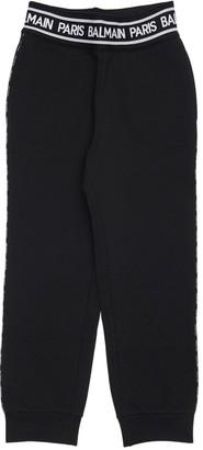 Balmain Logo Cotton Sweatpants
