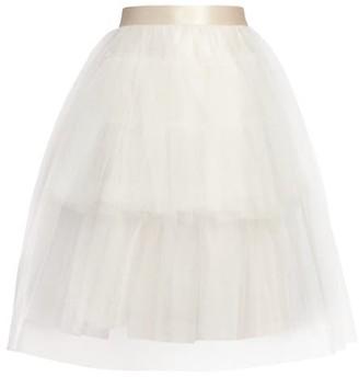 Simone Rocha Full Tiered Tulle Tutu Skirt