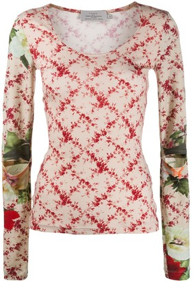 Preen by Thornton Bregazzi Yae floral patterned top