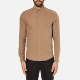 Folk Button Down Long Sleeve Shirt Sand