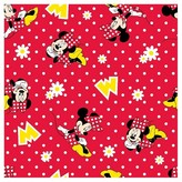 Disney Minnie Mouse Dot Flannel Fabric