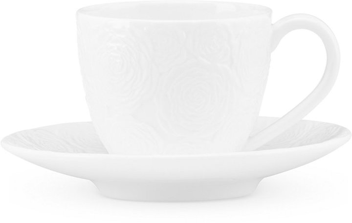 Marchesa by Lenox Rose Espresso Cup and Saucer Set